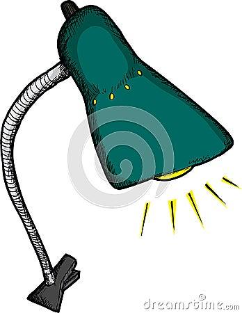 Clip-On Desk Lamp