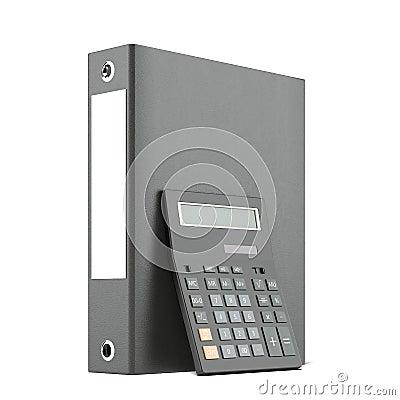 Clip folders and calculator