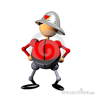 Clipart del pompiere
