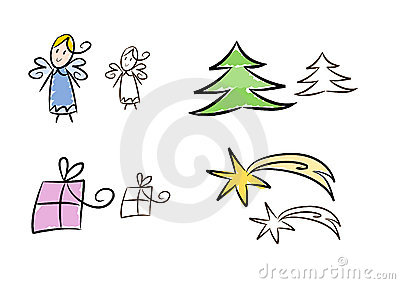 Clipart set: Christmas