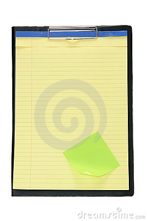 Clipboard with Note Pad