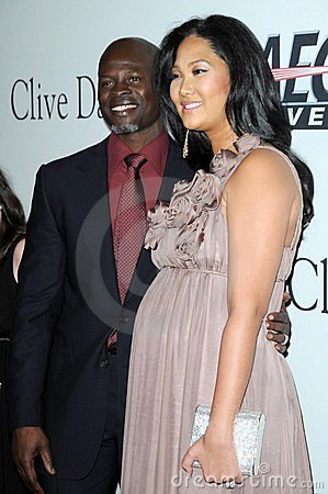 Clive Davis, Djimon Hounsou, Kimora Lee Editorial Photography