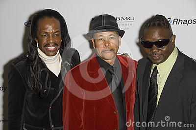 Clive Davis,Earth, Wind & Fire Editorial Stock Photo