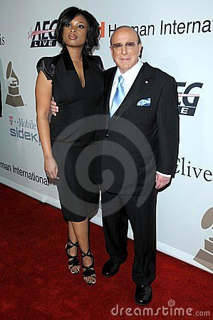 Clive Davis, Jennifer Hudson Editorial Photography