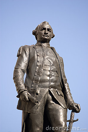 Clive of India statue