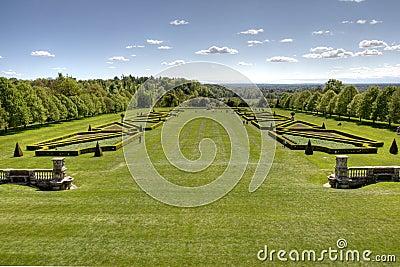 Cliveden garden England