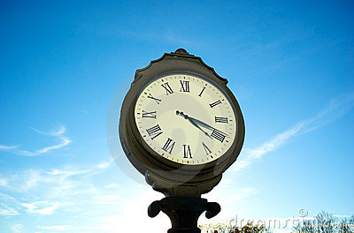 Clock Stock Photo - Image: 17416790