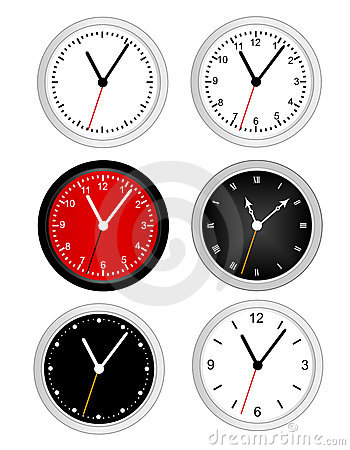 Free Clock Royalty Free Stock Photo - 21245255