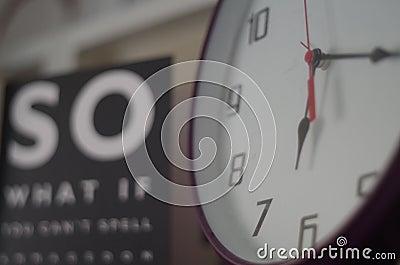 Clock At 6:17 Free Public Domain Cc0 Image