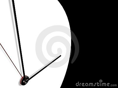 Clock on background