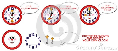 Clock for children