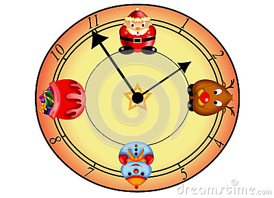 Clock Christmas