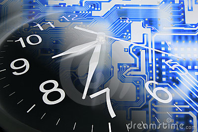 Clock and Circuit Board