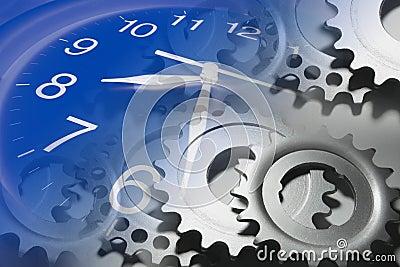Clock and Cog Wheels