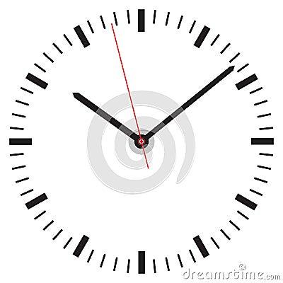 Free Clock Face Stock Photo - 46385430