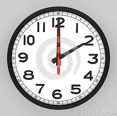 Clock Face 2 o clock