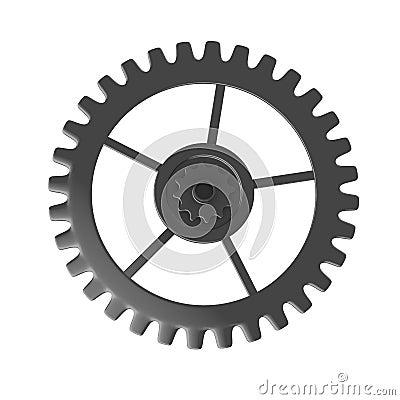 Clock Gear Wheel Royalty Free Stock Photos - Image: 23871528