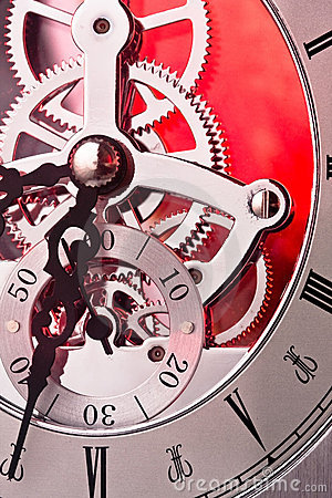 Free Clock Gears Royalty Free Stock Image - 15851646