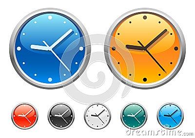 Clock icons 4