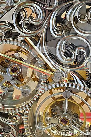 Clock internal operation mechanism