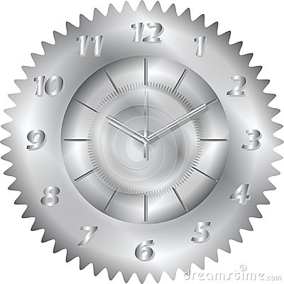 Clock metal gear