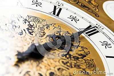CLOCK - Midnight time