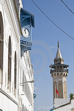 Clock and Minaret