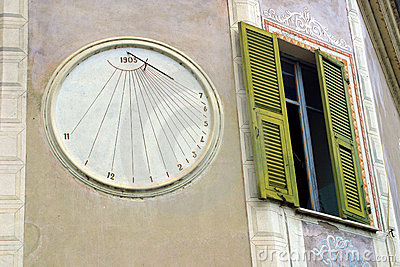 Clock Next to Window
