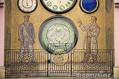 Clock in Olomouc