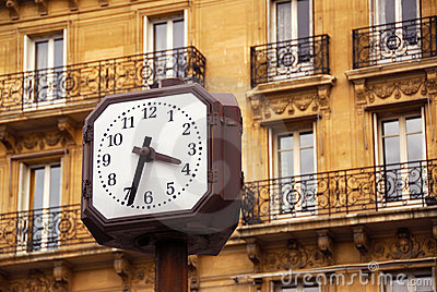 Clock in Paris