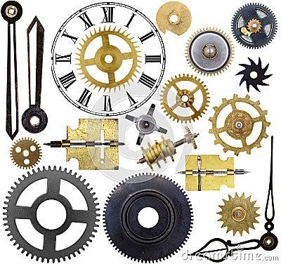 Free Clock Parts Royalty Free Stock Photos - 45138708