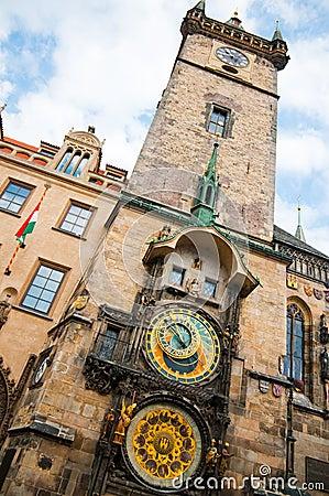 Clock Prague Czech Republic