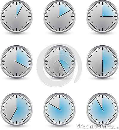 Clock series delay