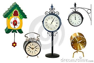 Clock shape