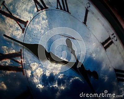 Clock and Sky
