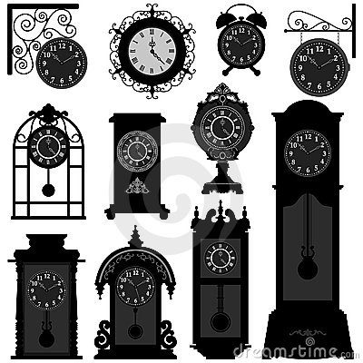Free Clock Time Antique Vintage Ancient Classic Old Tra Stock Photo - 20997960