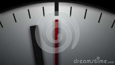 Clock Time Lapse Background Loop stock video