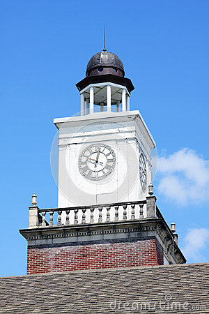 Free Clock Tower Royalty Free Stock Photo - 40754365