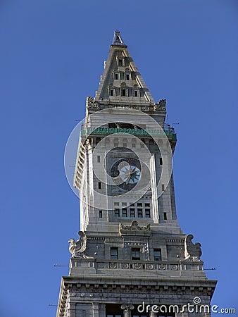 Clock tower against sky