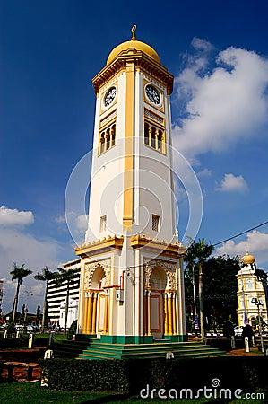 Clock Tower, Alor Setar, Kedah, Malaysia. Editorial Image