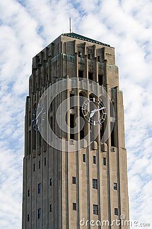 Clock Tower Ann Arbor