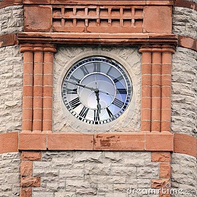 Clock Tower in Cheyenne