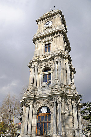 Clock tower dolmabahce, istanbul