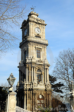 Clock Tower from Dolmabahce Palace, Istanbul