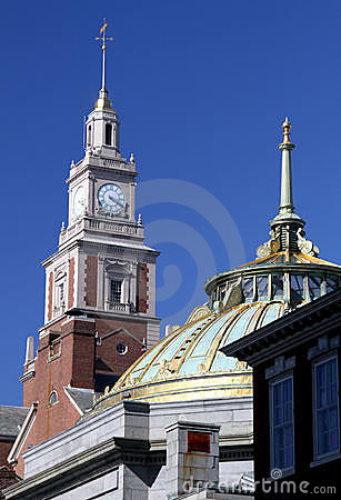 Clock tower and Dome
