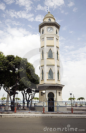 Clock tower guayaquil ecuador