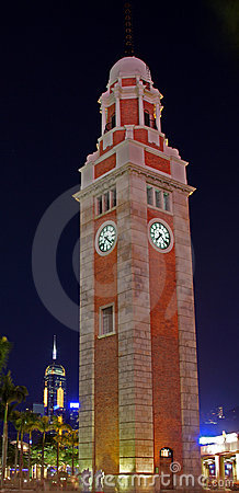 The Clock Tower, Hong Kong (at night)