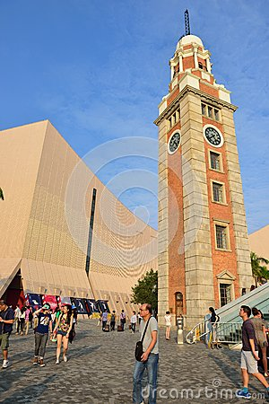 Clock Tower, Hong Kong Editorial Photography