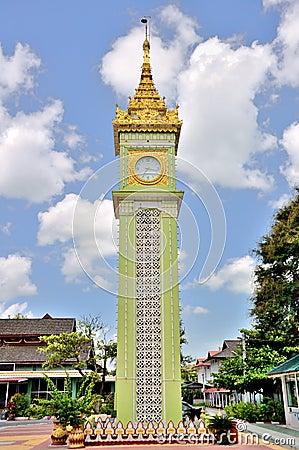 Free Clock Tower In Mandalay Royalty Free Stock Photo - 54655855