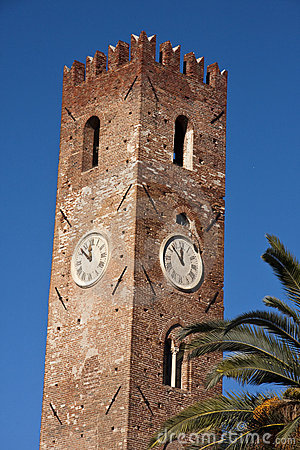 The clock tower of Noli
